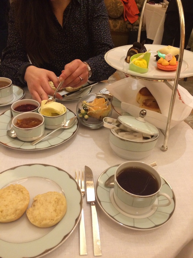 Blonde In Grey - Afternoon Tea at the Dorchester (10)