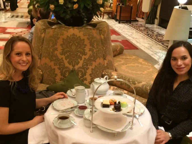 Blonde In Grey - Afternoon Tea at the Dorchester (13)