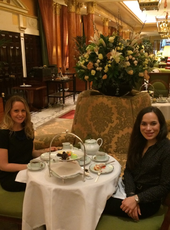 Blonde In Grey - Afternoon Tea at the Dorchester (14)