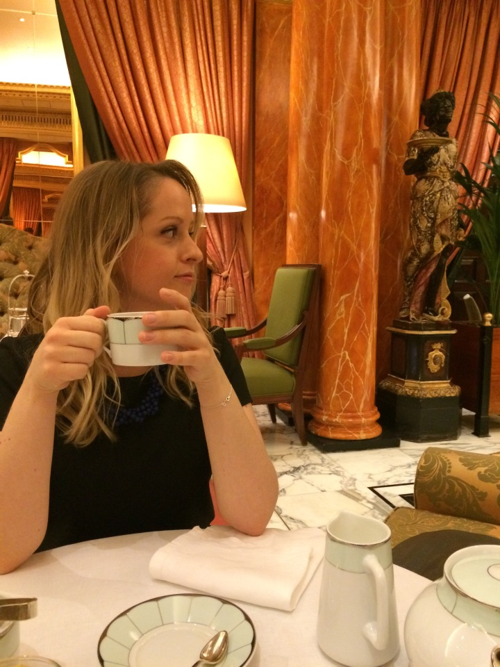 Blonde In Grey - Afternoon Tea at the Dorchester (19)