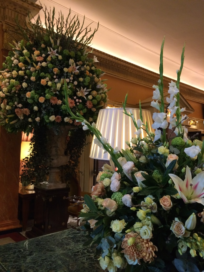 Blonde In Grey - Afternoon Tea at the Dorchester (2)