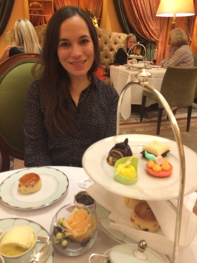 Blonde In Grey - Afternoon Tea at the Dorchester (8)