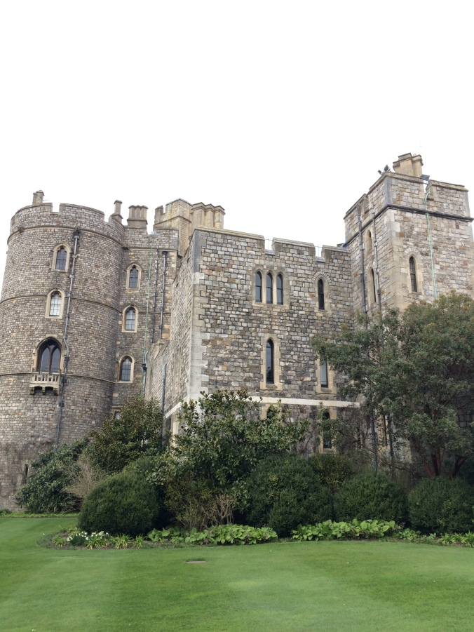 Blonde In Grey - An Afternoon at Windsor Castle (2)
