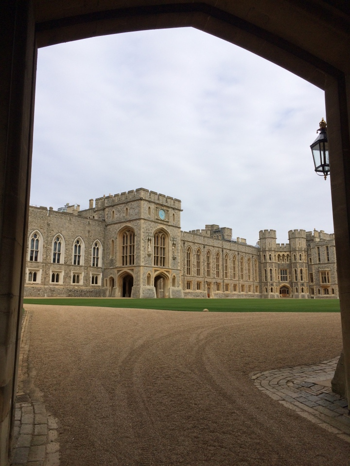 Blonde In Grey - An Afternoon at Windsor Castle (6)