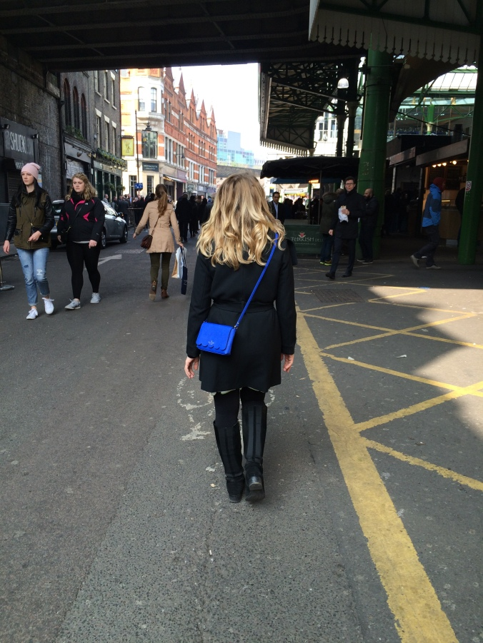 Blonde In Grey - Borough Market (1)