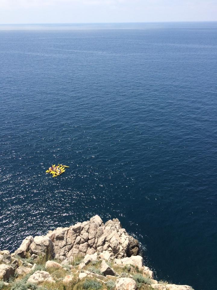 Blonde in Grey - Dubrovnik Part One (1)