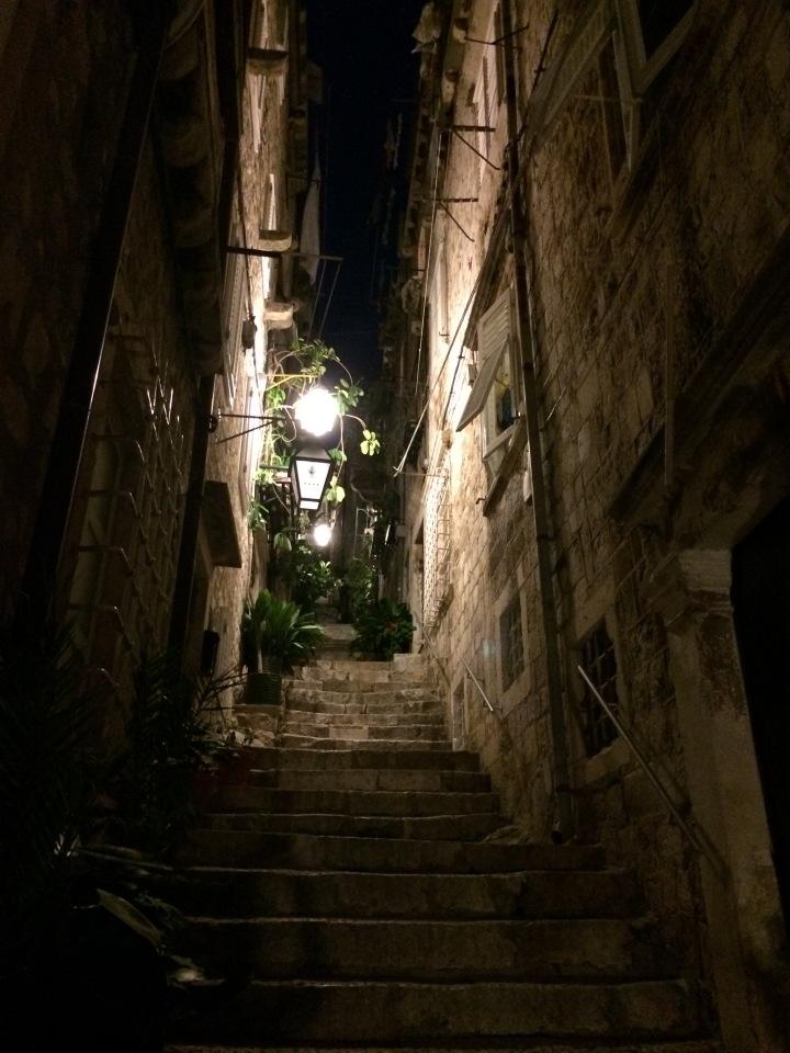 Blonde in Grey - Dubrovnik Part One (15)