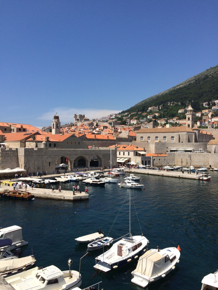 Blonde in Grey - Dubrovnik Part One (4)