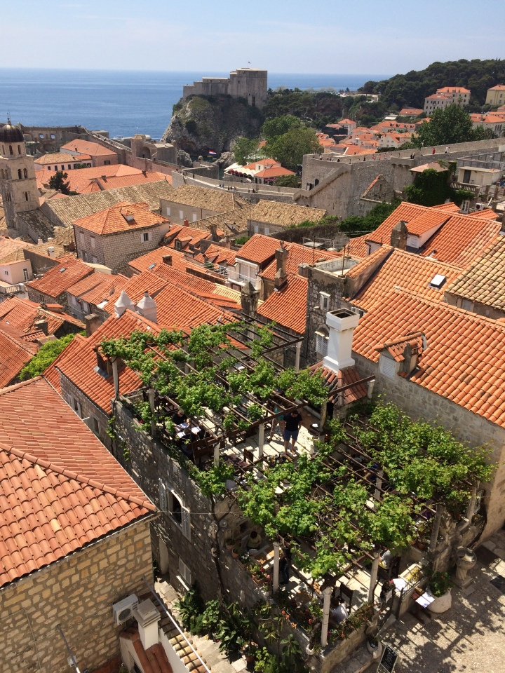 Blonde in Grey - Dubrovnik Part One (6)