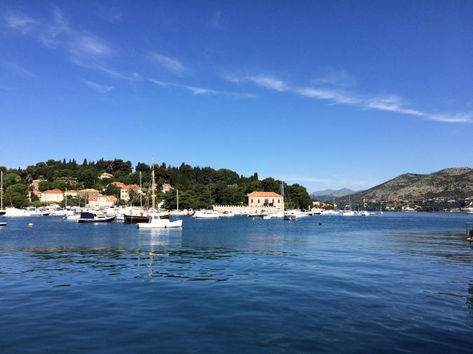 Blonde in Grey - Island Hopping in Dubrovnik (1)