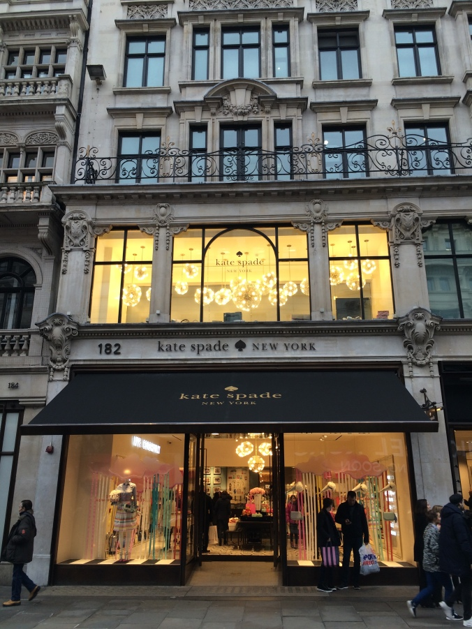 Blonde In Grey - Kate Spade Regent Street (30)