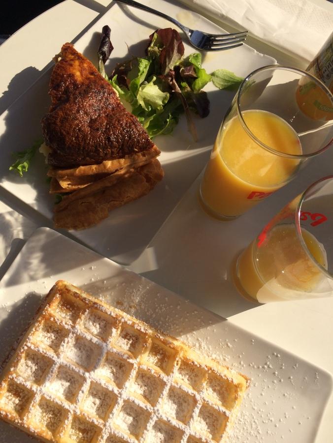 Blonde in Grey - Morning Over Paris (6)