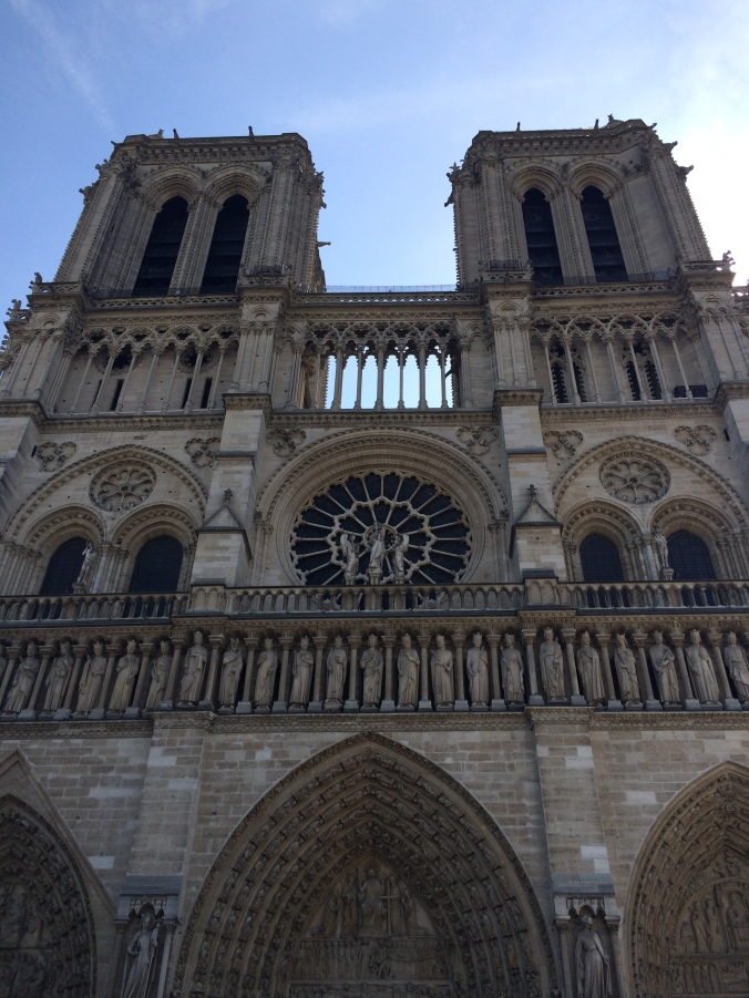 Blonde in Grey - Notes From Notre Dame (1)