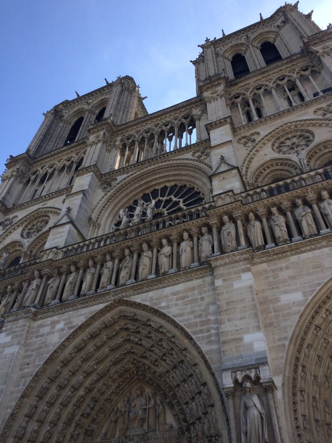 Blonde in Grey - Notes From Notre Dame (2)