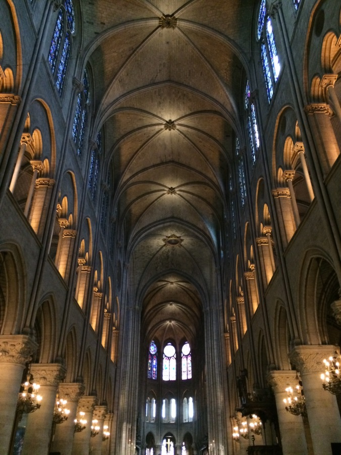 Blonde in Grey - Notes From Notre Dame (3)