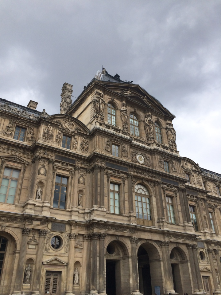 Blonde in Grey - Parisian Wanderings (15)