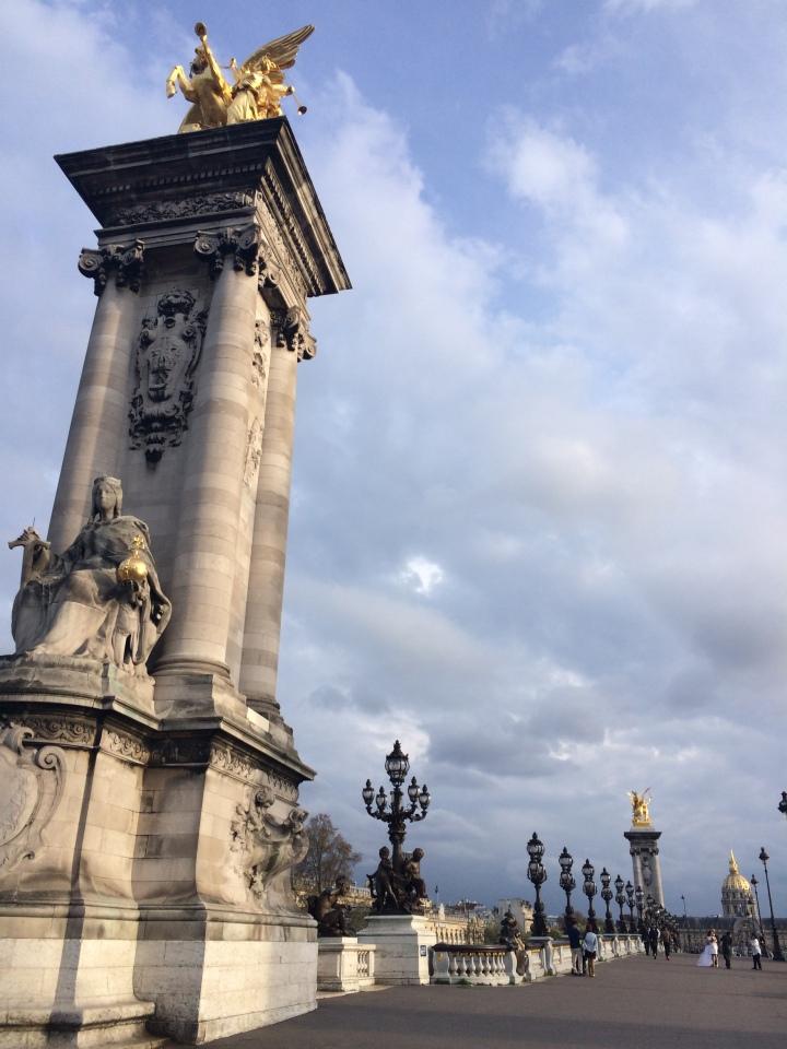 Blonde in Grey - Parisian Wanderings (52)