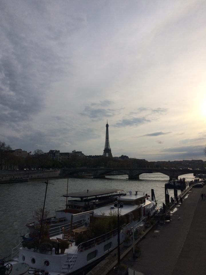 Blonde in Grey - Parisian Wanderings (53)