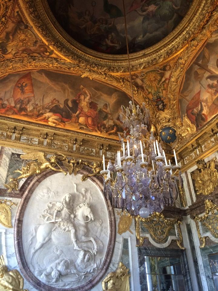 Blonde in Grey - Versailles Part One (13)