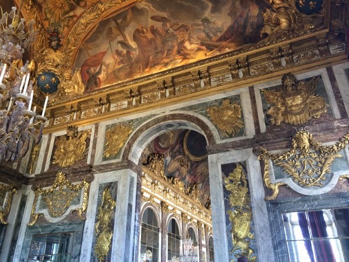 Blonde in Grey - Versailles Part One (14)