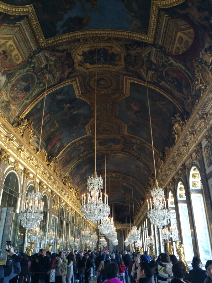 Blonde in Grey - Versailles Part One (15)