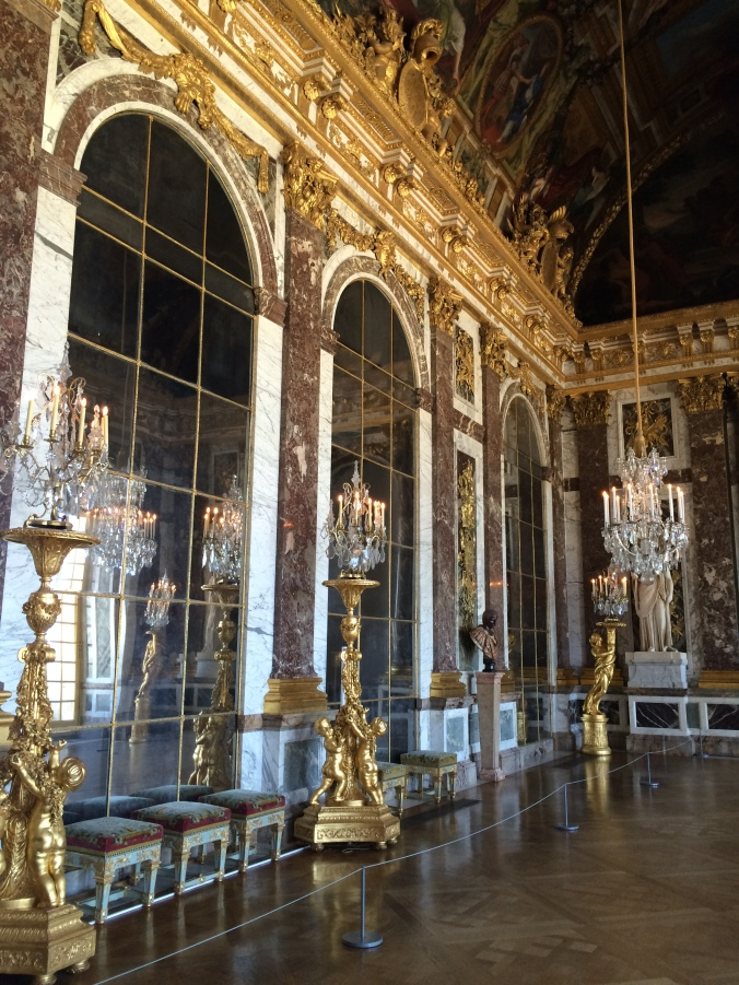 Blonde in Grey - Versailles Part One (16)