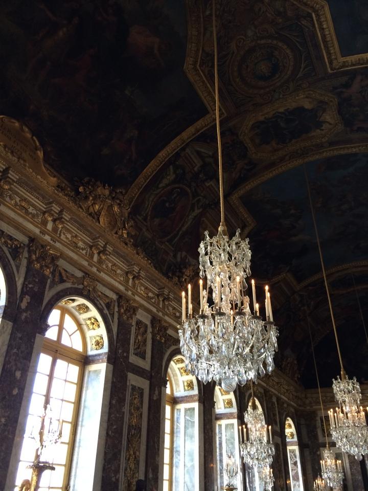 Blonde in Grey - Versailles Part One (17)