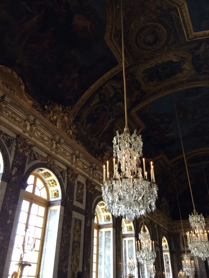 Blonde in Grey - Versailles Part One (17)