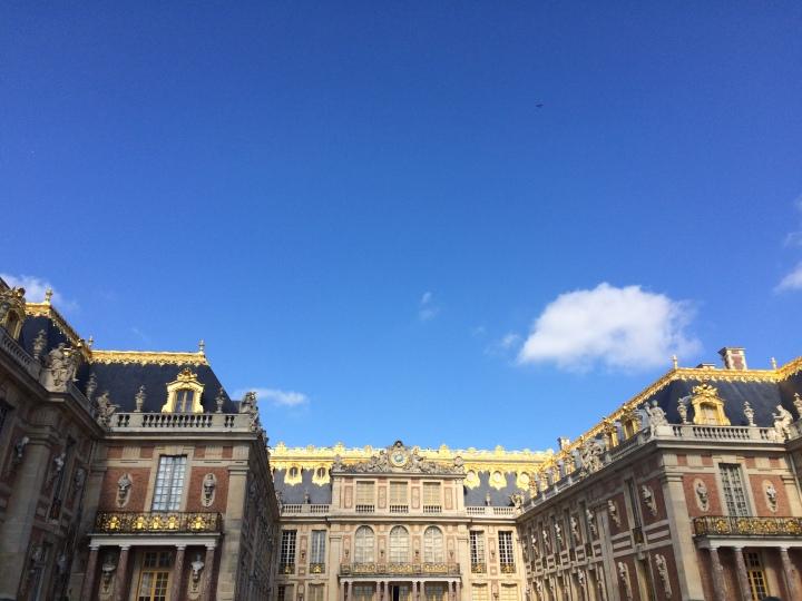 Blonde in Grey - Versailles Part One (2)