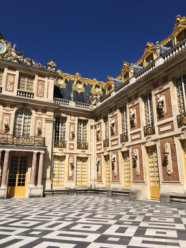Blonde in Grey - Versailles Part One (22)