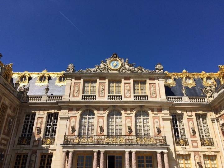 Blonde in Grey - Versailles Part One (23)