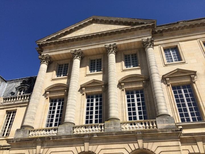 Blonde in Grey - Versailles Part One (32)