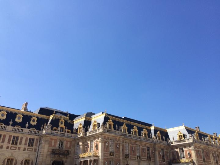 Blonde in Grey - Versailles Part One (33)