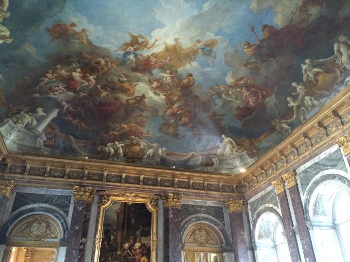 Blonde in Grey - Versailles Part One (9)