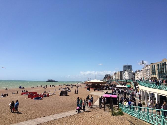 Blonde in Grey - Brighton (21)