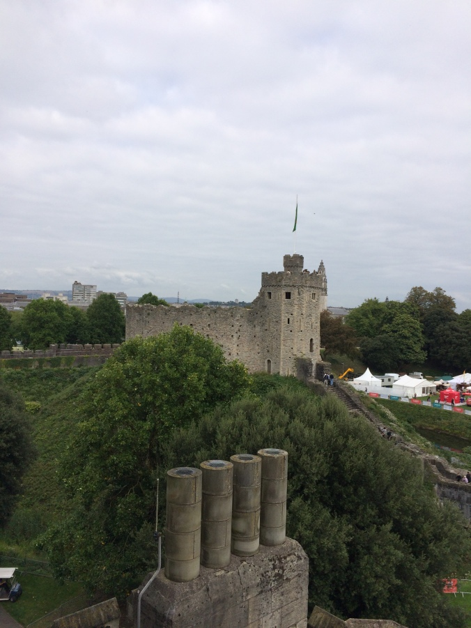 Blonde in Grey - Cardiff Castle (17)
