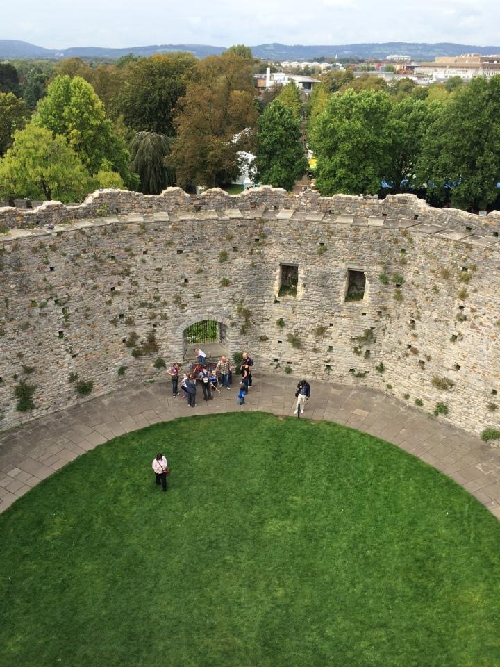 Blonde in Grey - Cardiff Castle (23)