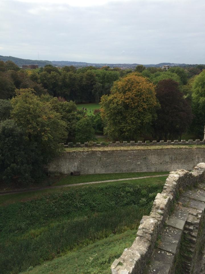 Blonde in Grey - Cardiff Castle (24)