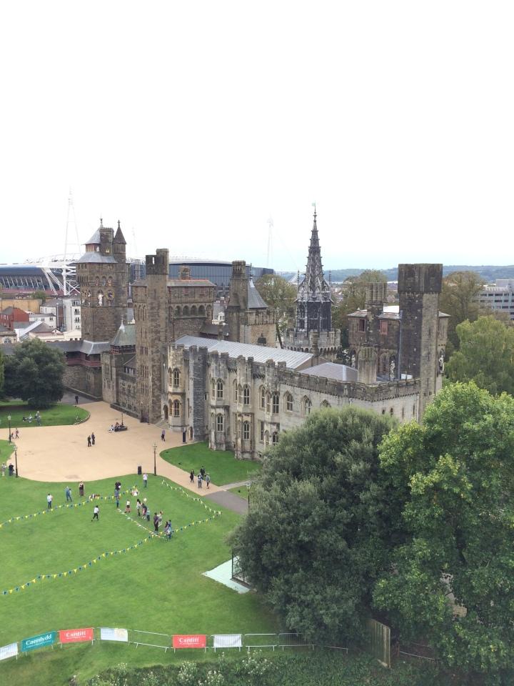 Blonde in Grey - Cardiff Castle (25)