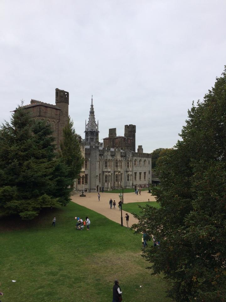 Blonde in Grey - Cardiff Castle (6)