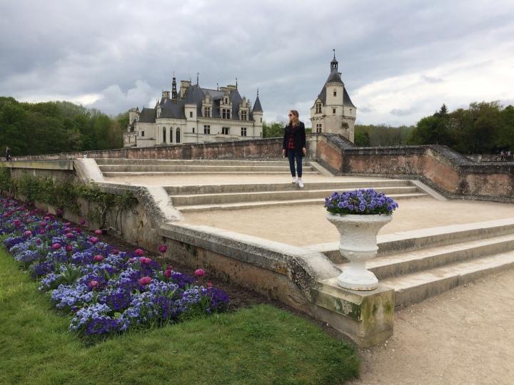 Blonde in Grey - Château de Chenonceau (33)