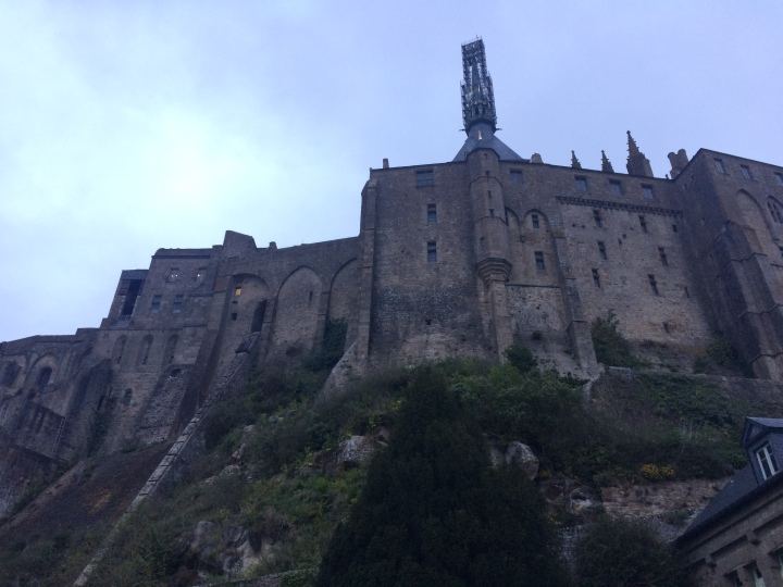 Blonde in Grey - Mont Saint-Michel (43)