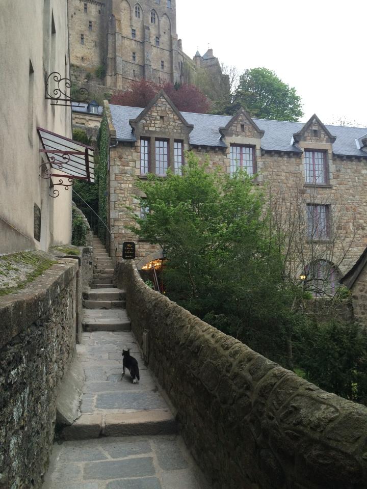 Blonde in Grey - Mont Saint-Michel (61)