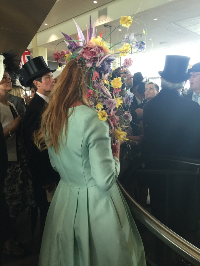 Blonde in Grey - Royal Ascot 2016 (11)