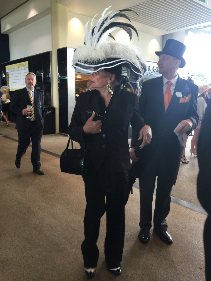 Blonde in Grey - Royal Ascot 2016 (12)