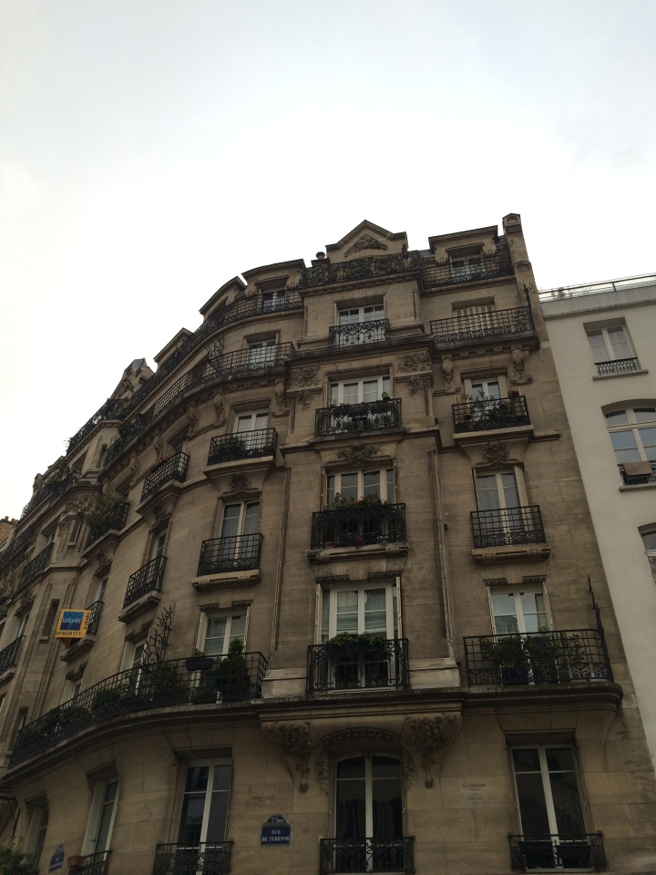 Blonde in Grey - The Beauty of Paris (3)