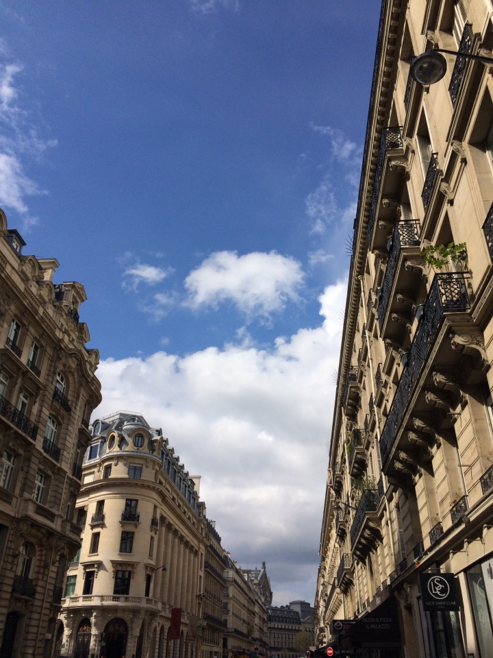 Blonde in Grey - The Beauty of Paris (8)