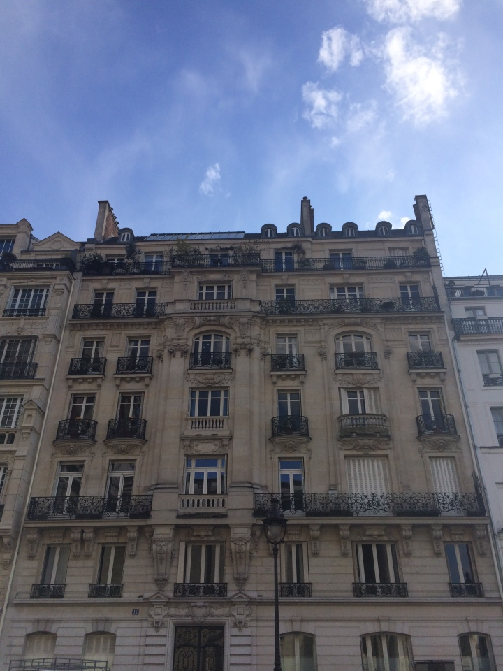 Blonde in Grey - The Beauty of Paris (9)