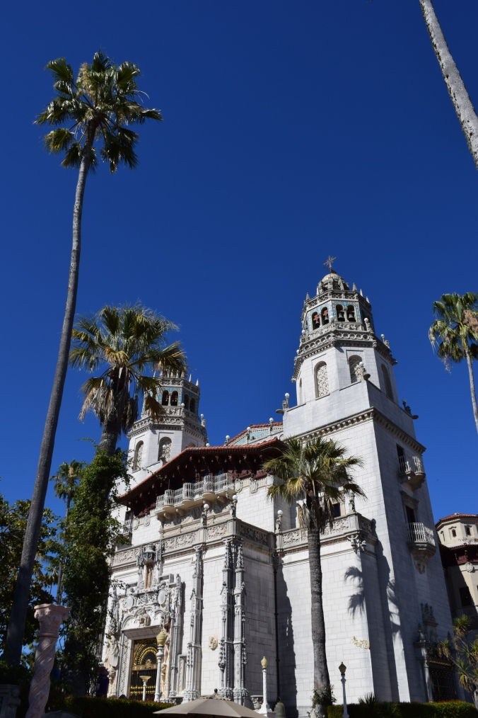 Blonde in Grey - Hearst Castle (13)