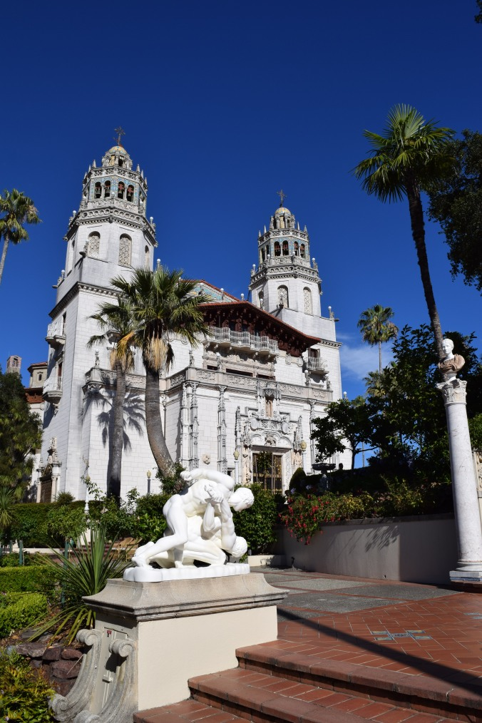 Blonde in Grey - Hearst Castle (43)